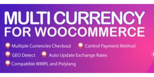 Multicurreny for Woocommerce for SpeakerFlow Logo