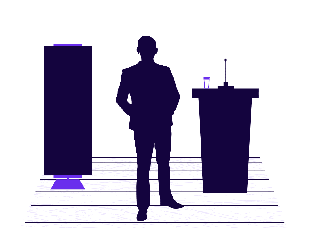 Speaking Topics Graphic for How To Become A Public Speaker The Beginners Guide - SpeakerFlow