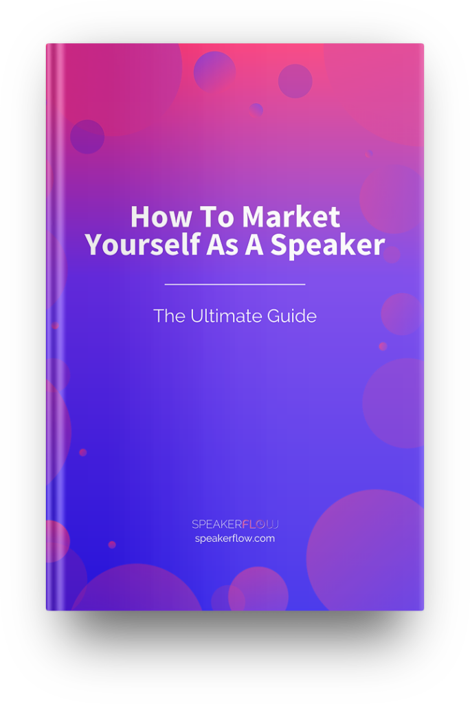How To Market Yourself As A Speaker Ultimate Guide Mockup - SpeakerFlow