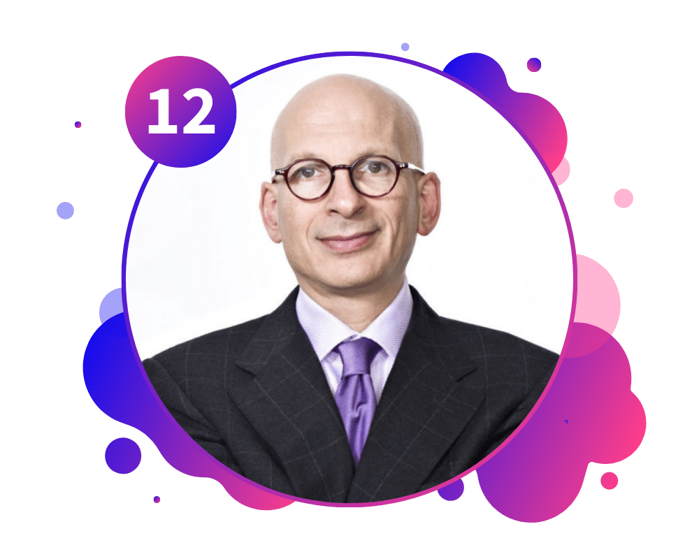 Seth Godin Graphic for 12 Thought Leaders To Inspire You In Work And In Life - SpeakerFlow